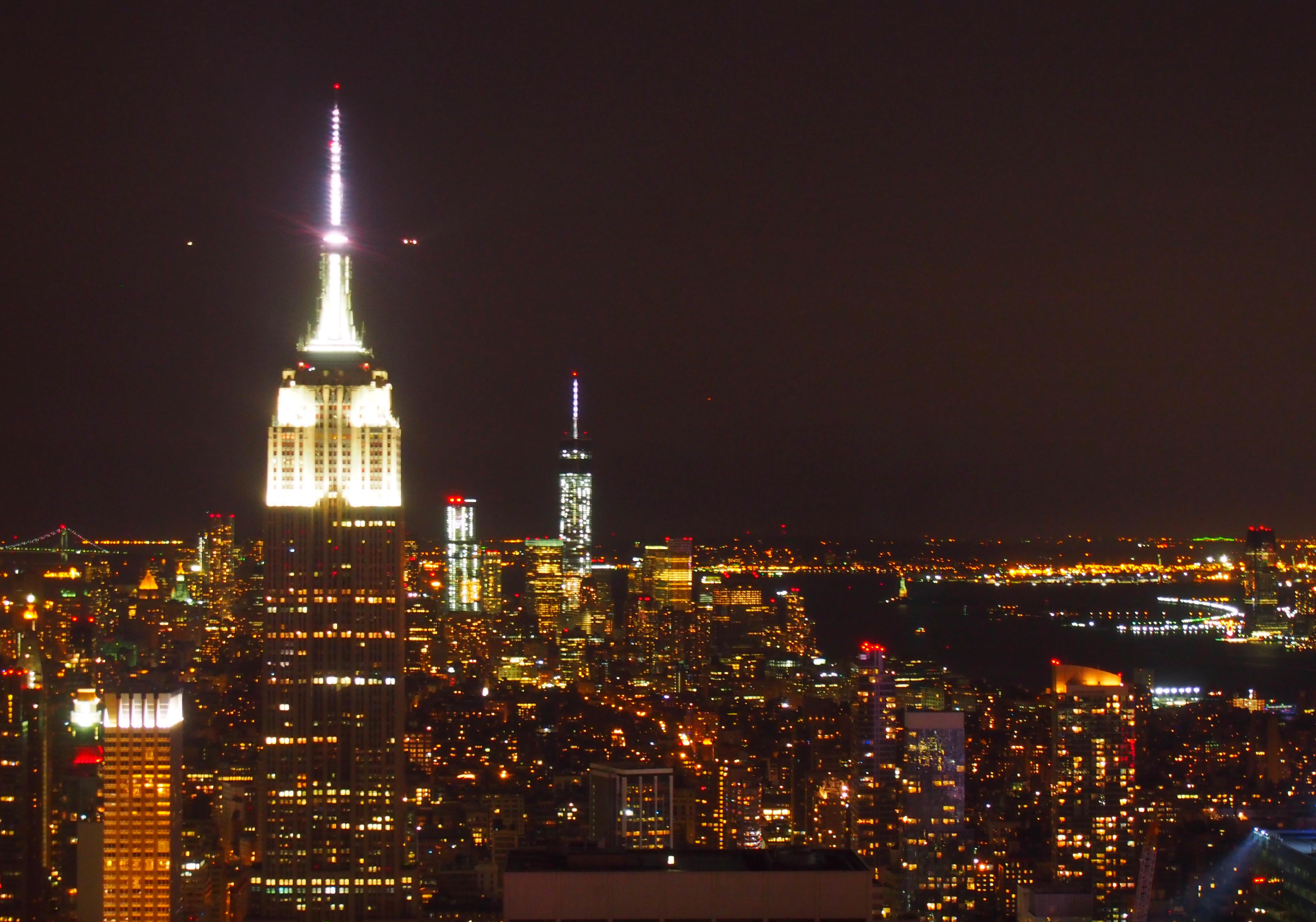 NYの夜景ならトップ・オブ・ザ・ロック!(ロックフェラーの展望台)