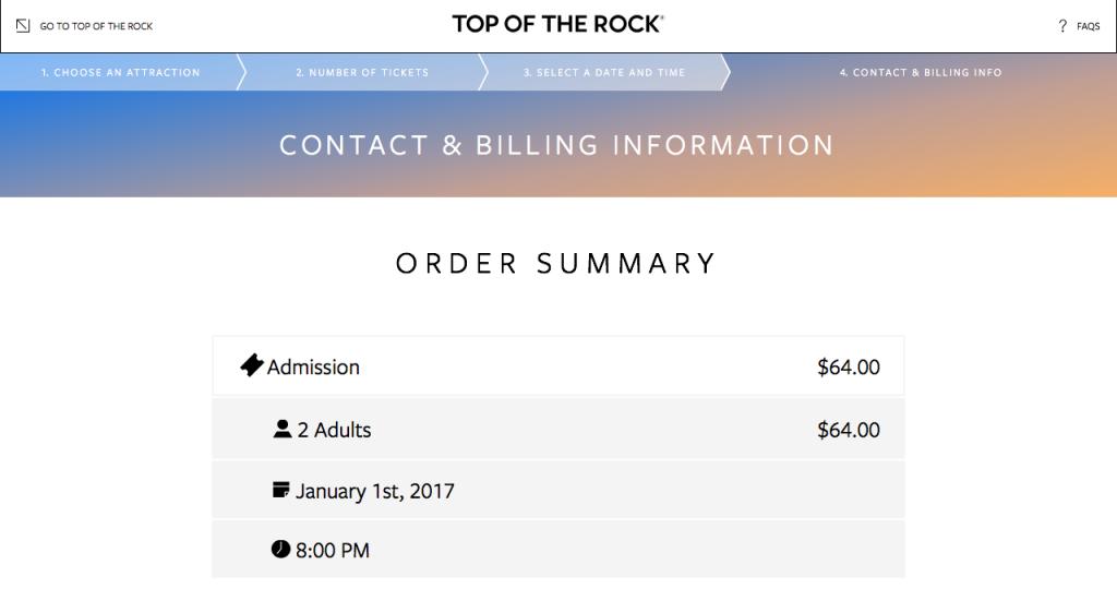 トップ・オブ・ザ・ロックのチケット購入方法9