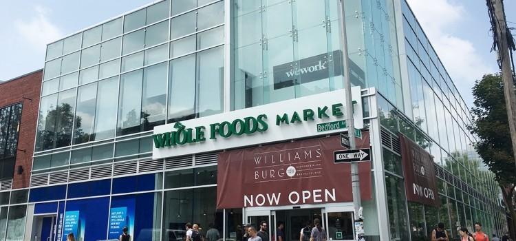 ブルックリンを堪能!ホールフーズウィリアムズバーグ店がオープン