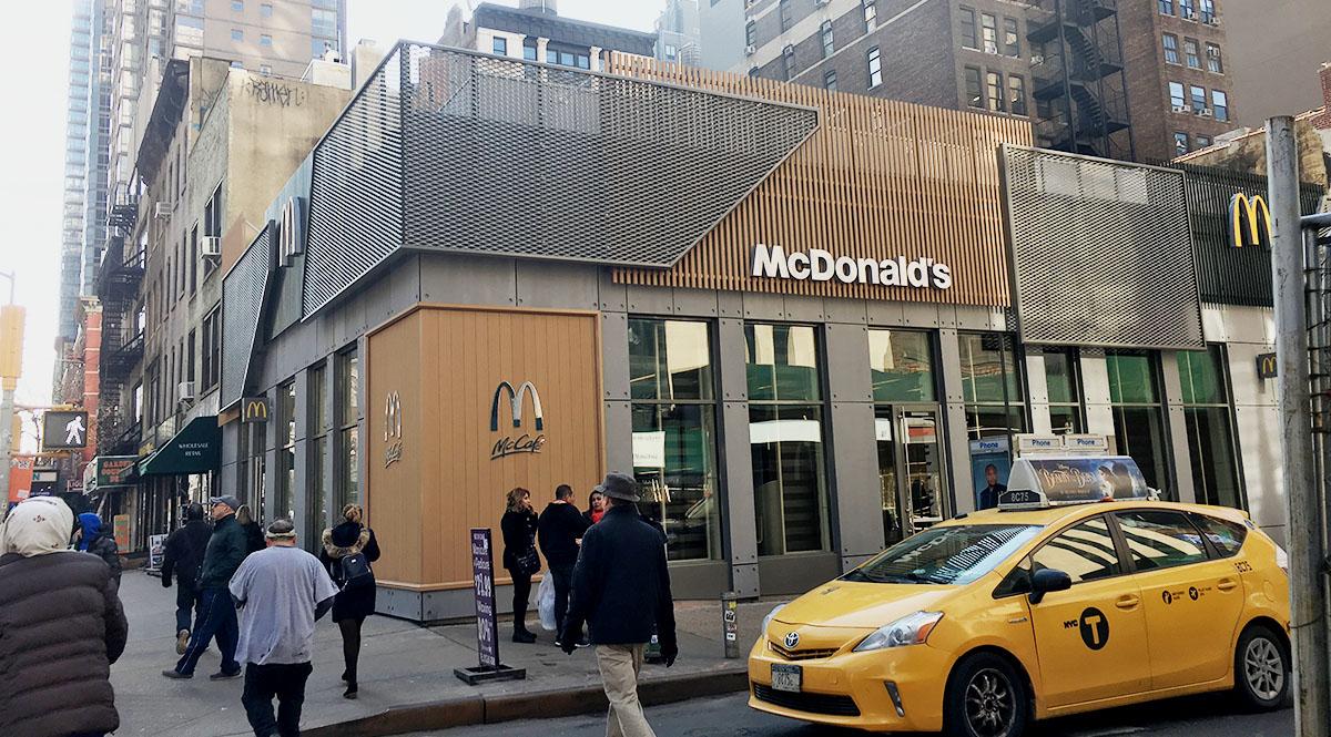 ニューヨーク マクドナルド