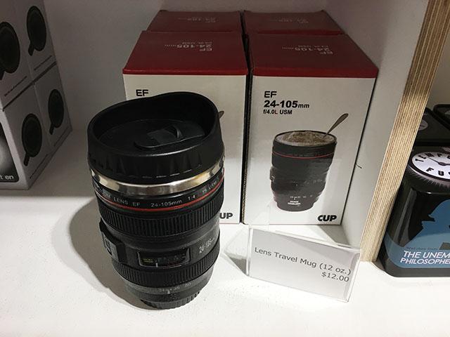 写真センターカメラレンズ型マグカップ