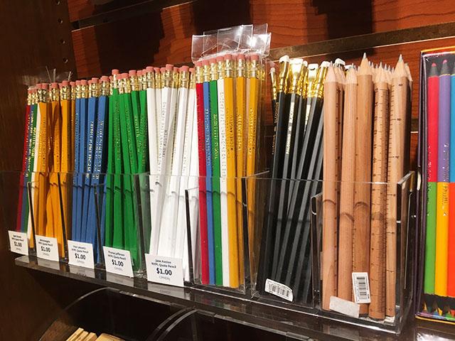 図書館鉛筆
