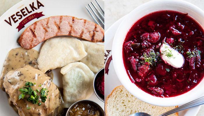 NYローカルな美味しい異国料理1:ウクライナ料理「Veselka」
