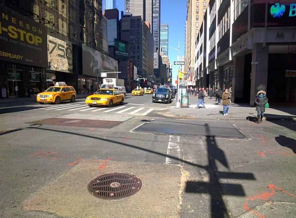 マンハッタン3番街にて、最強のニューヨーカー誕生!