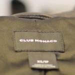 【ニューヨークのサンプルセール】{3/3-3/7} Club Monaco