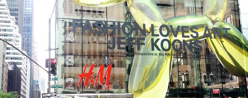 世界一!新しいH&Mがニューヨークにオープン!