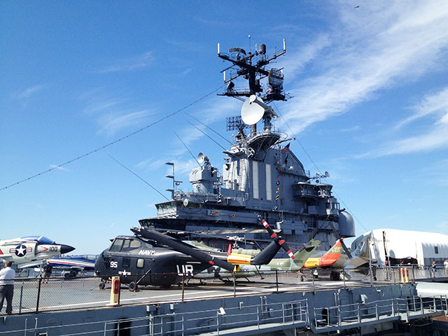 イントレピッド海上航空宇宙博物館へ行ってみよう!